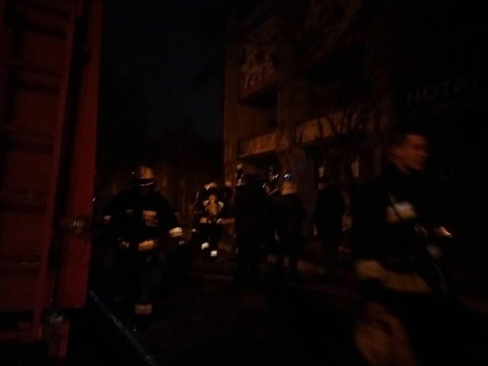 В Днепре на ул. Костомаровской загорелся тир (ФОТО), фото-1
