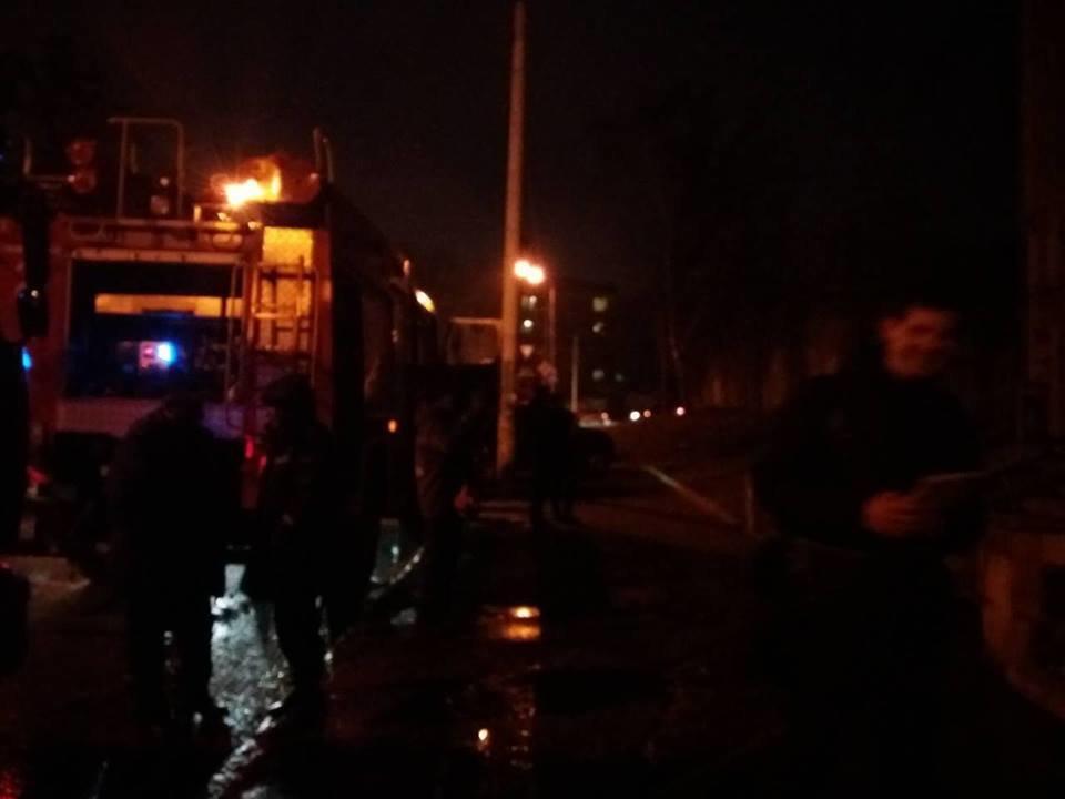 В Днепре на ул. Костомаровской загорелся тир (ФОТО), фото-2