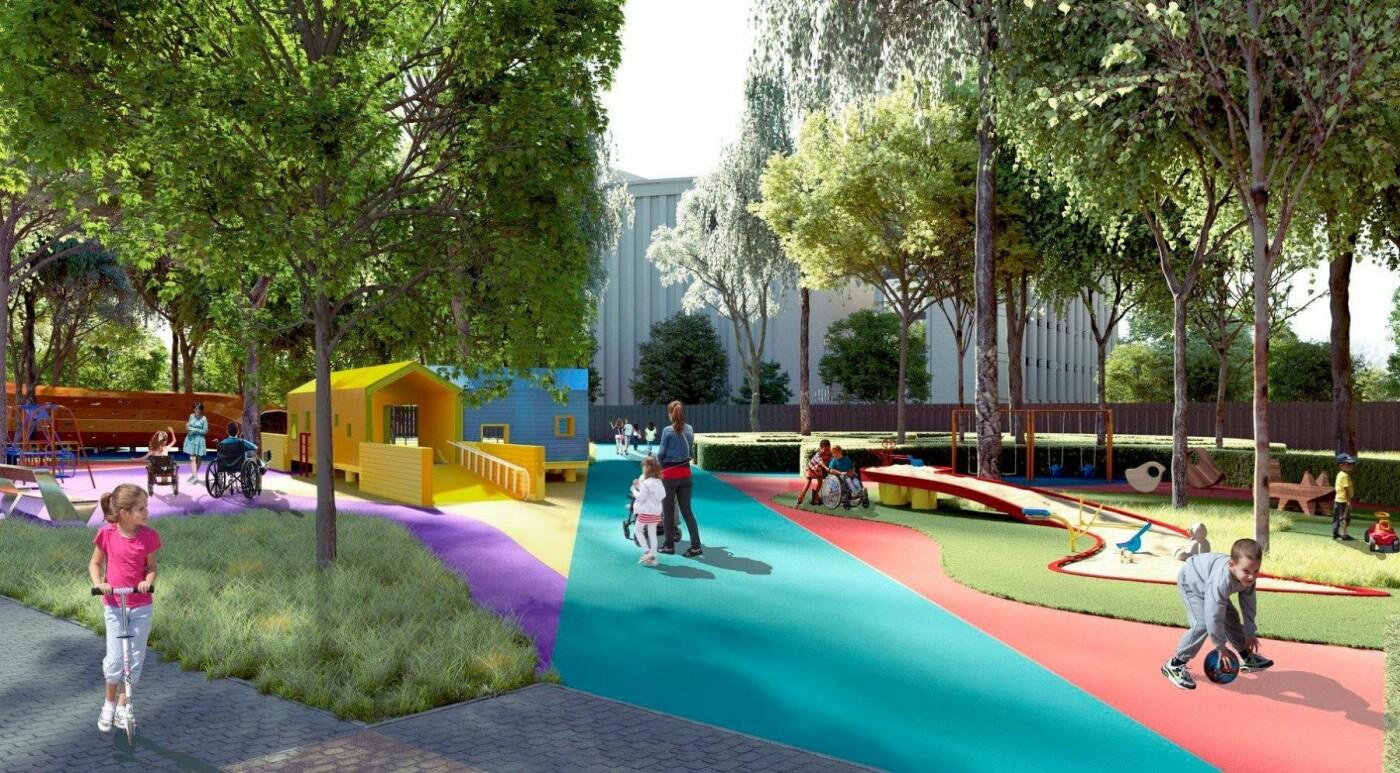 В Днепре создадут первый в Украине Инклюзивный Детский Парк (ФОТО), фото-10