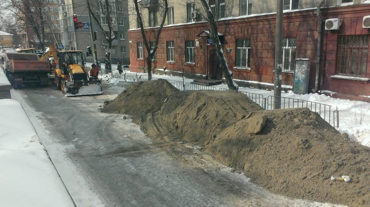 Почему дыру в асфальтном покрытии в центре Днепра так и не засыпали (ФОТО), фото-5