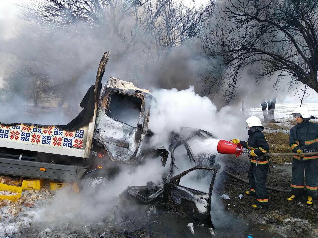 Масштабное ДТП с пожаром под Днепром: погибло 3 человека и ребенок (ФОТО), фото-5