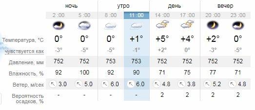 Погода в Днепре на 10 дней: дождь, снег и слякоть, фото-1