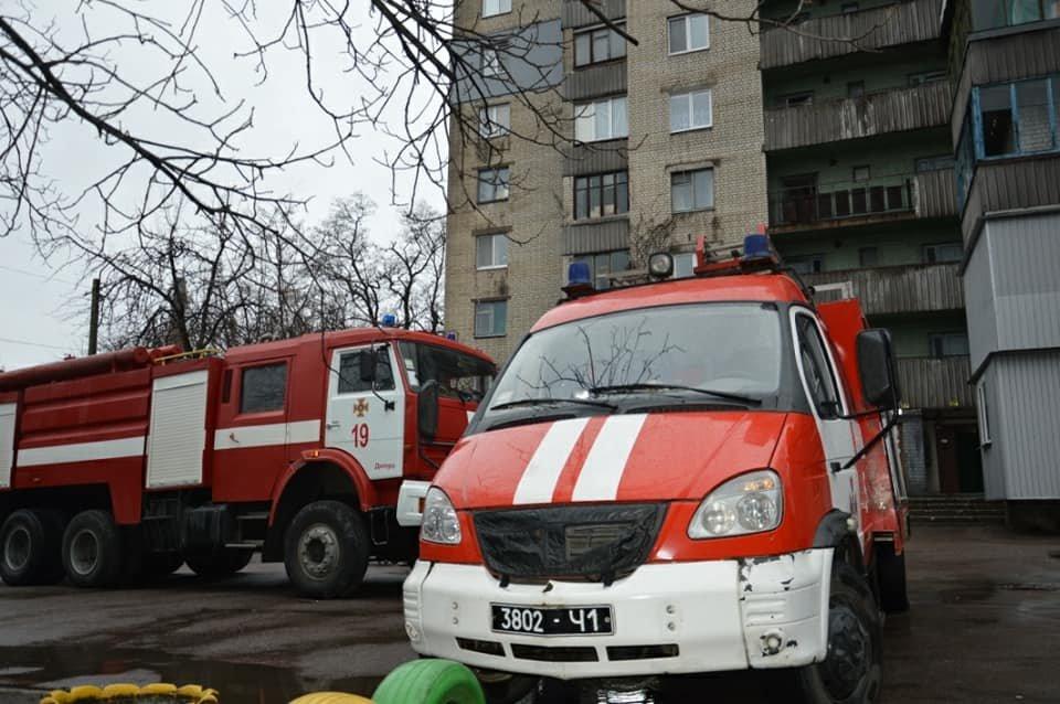 Пожар в Днепре: на правом берегу горела многоэтажка (ФОТО), фото-3