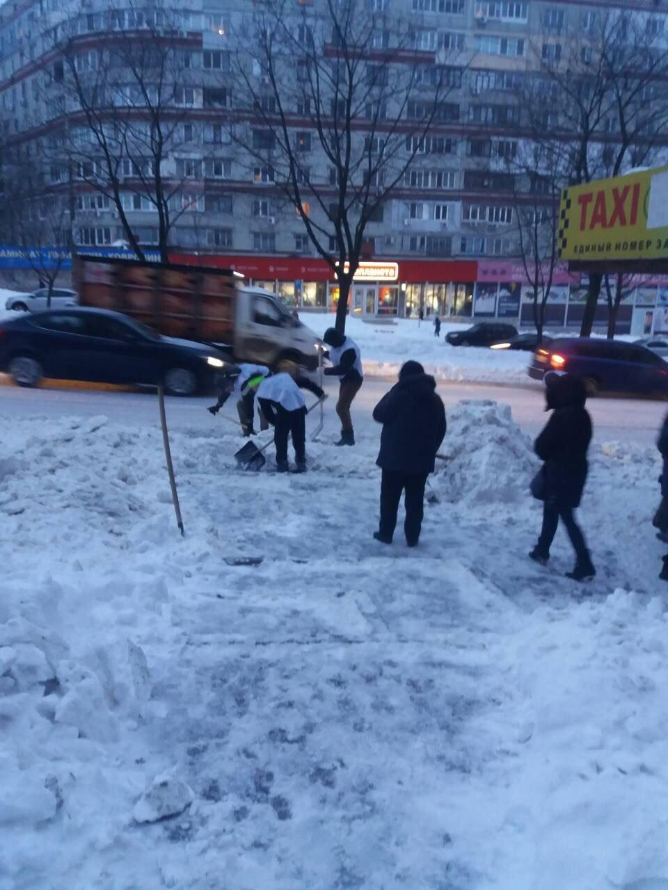 В Днепре депутат организует флэшмоб по расчистке снега, фото-3