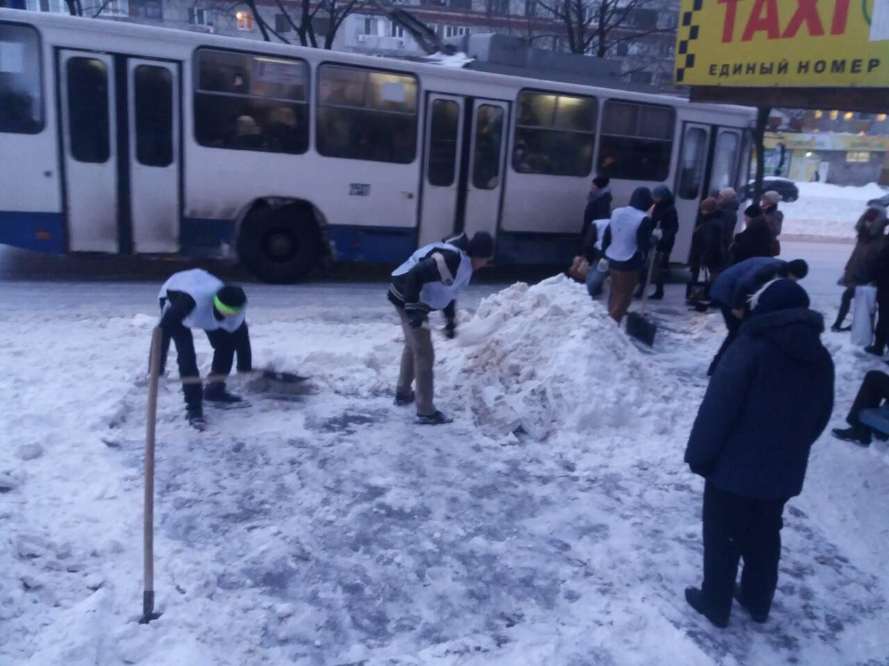 В Днепре депутат организует флэшмоб по расчистке снега, фото-1