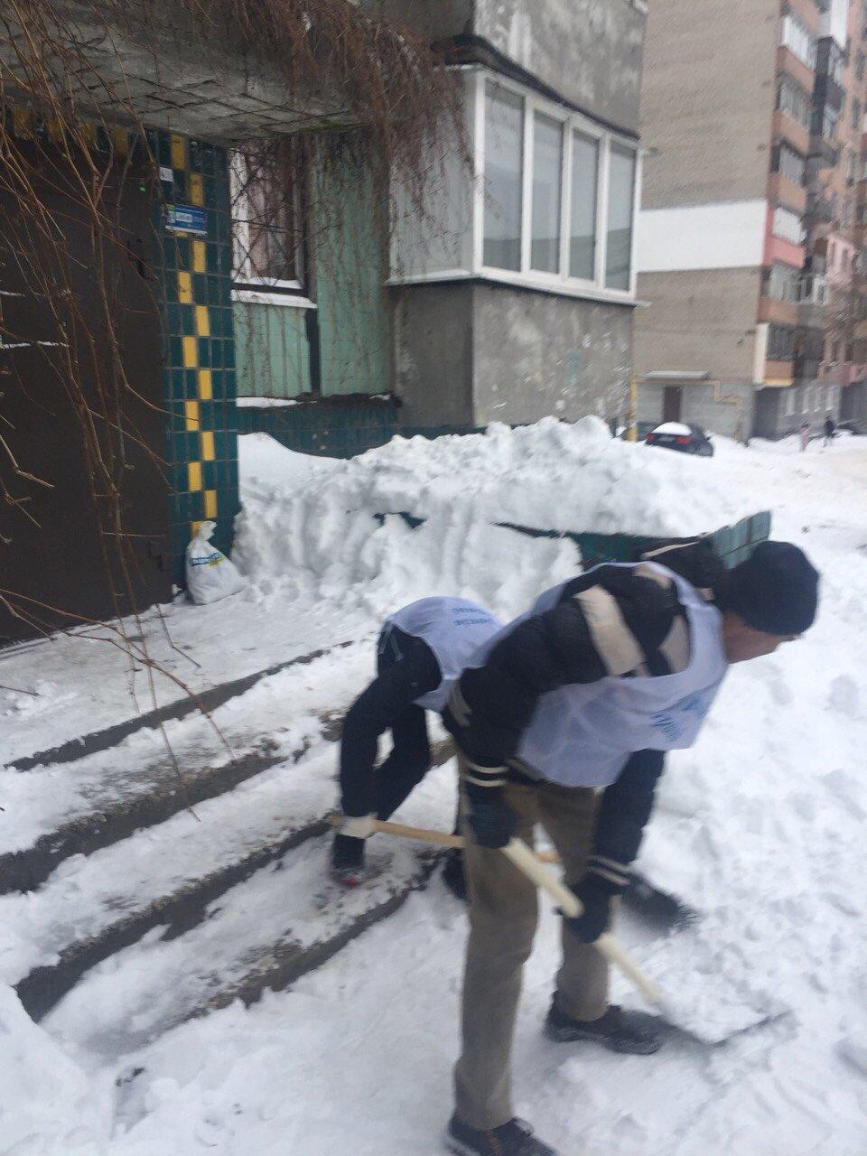 В Днепре депутат организует флэшмоб по расчистке снега, фото-4