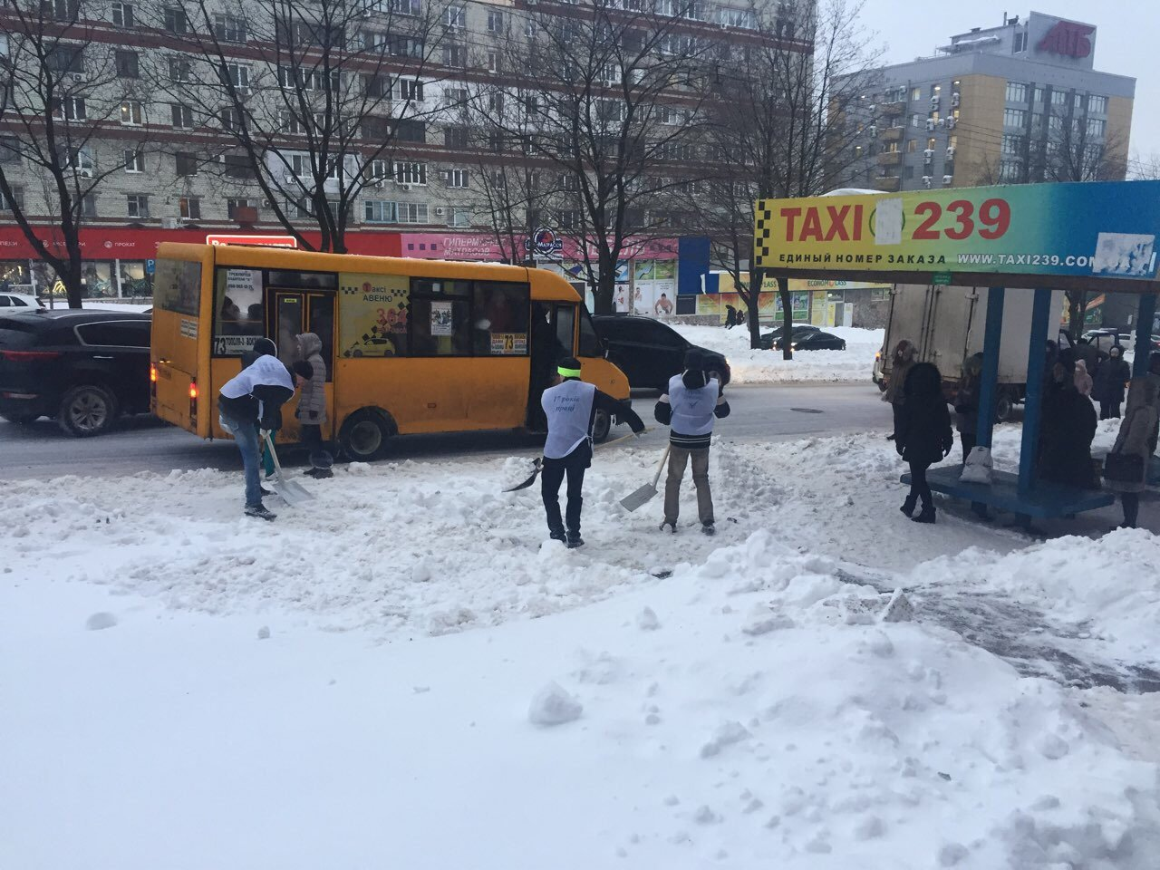 В Днепре депутат организует флэшмоб по расчистке снега, фото-5