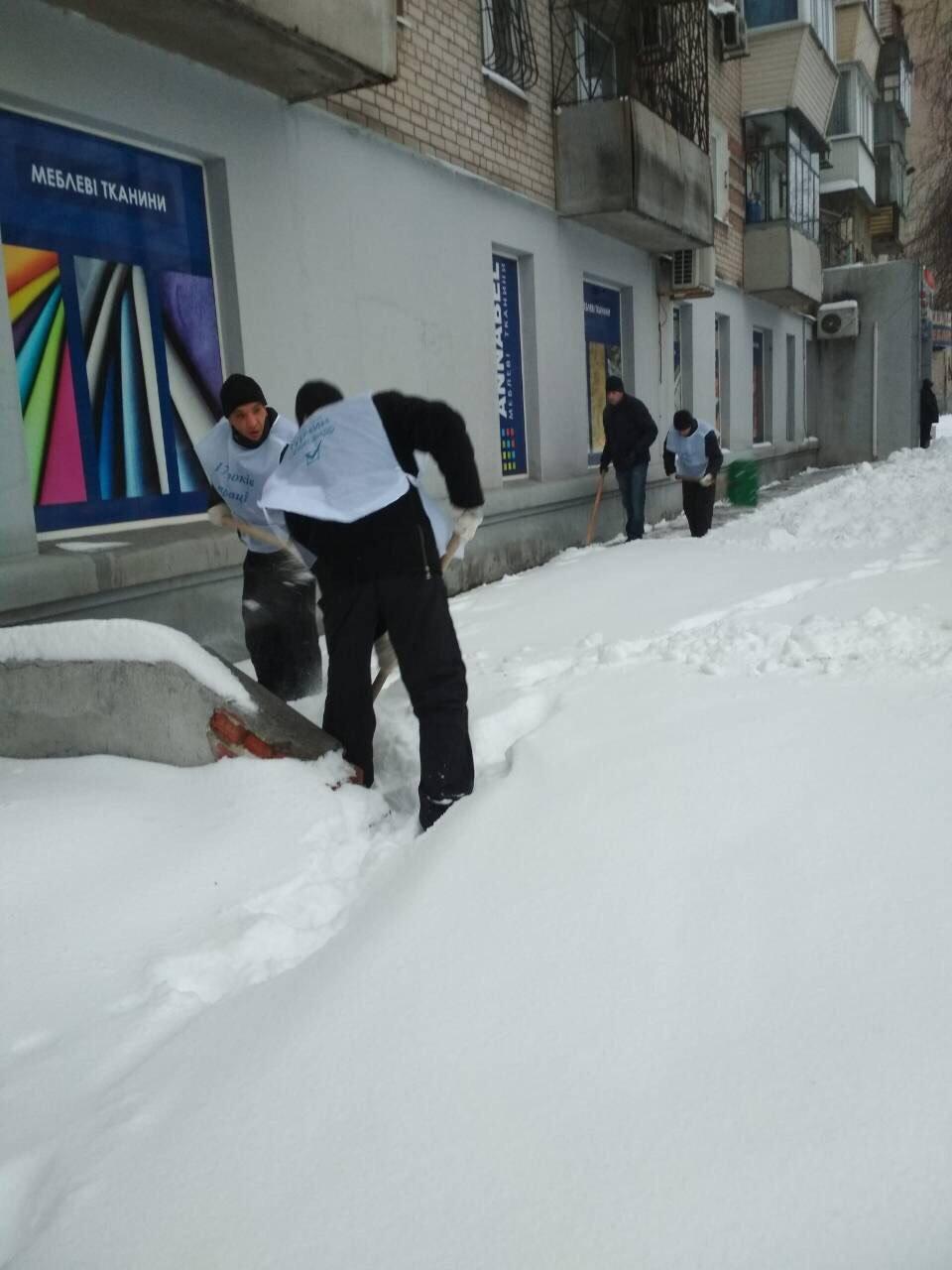 В Днепре депутат организует флэшмоб по расчистке снега, фото-2