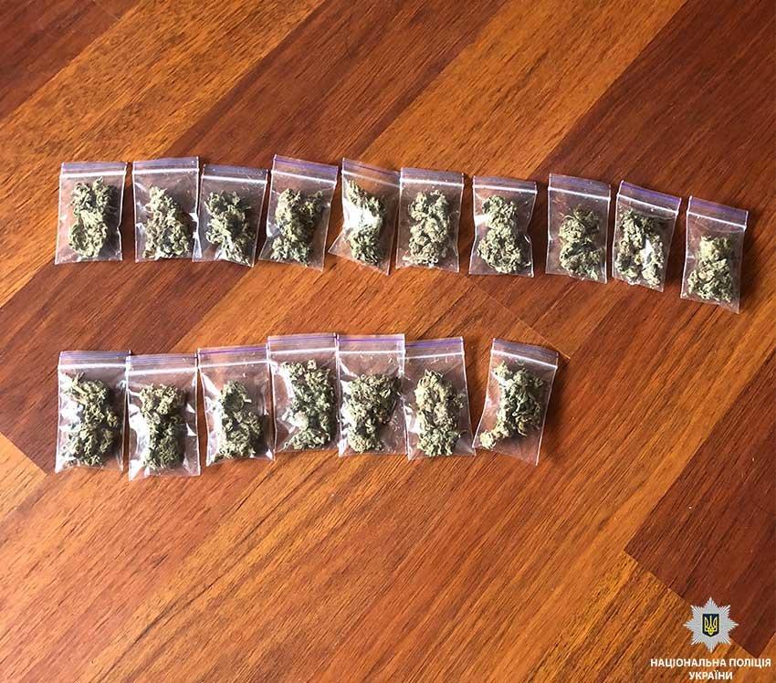 В Днепре полиция изъяла у гражданина Туниса элитные наркотики (ФОТО), фото-1