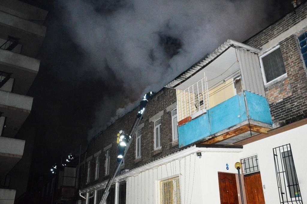 В центре Днепра горел жилой дом (ФОТО), фото-1