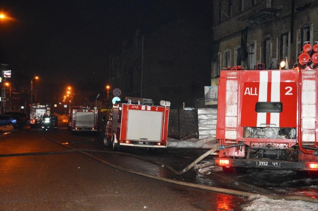 В центре Днепра горел жилой дом (ФОТО), фото-2