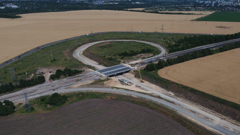 «Непосредственно сам мост собран»: как проходит строительство объездной дороги в Днепре, - ФОТО, фото-3
