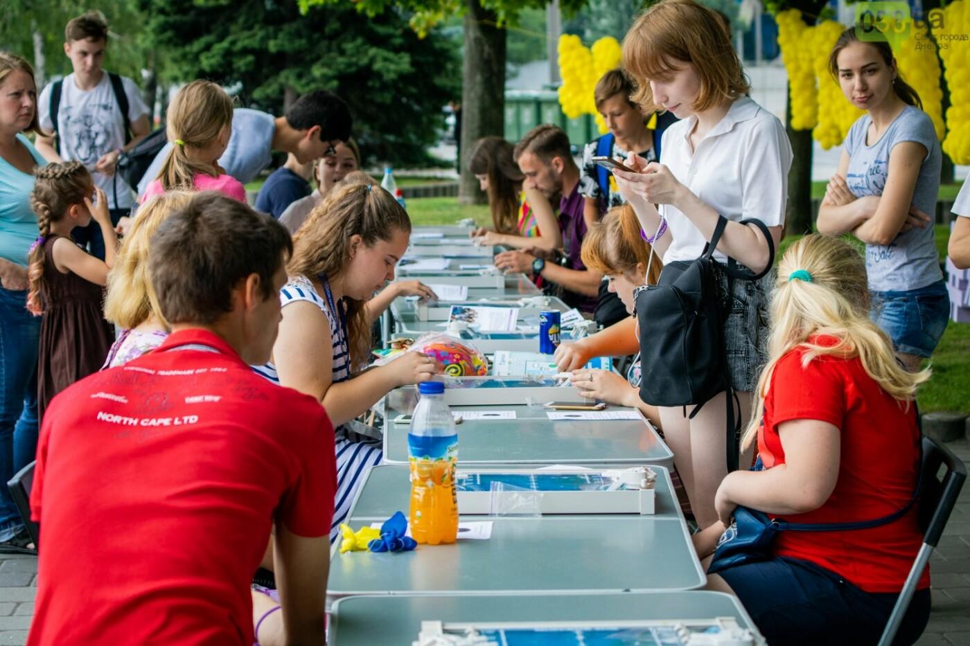 Фестиваль красок и свадьбы: как в Днепре прошел День молодежи, - ФОТОРЕПОРТАЖ, ВИДЕО, фото-39