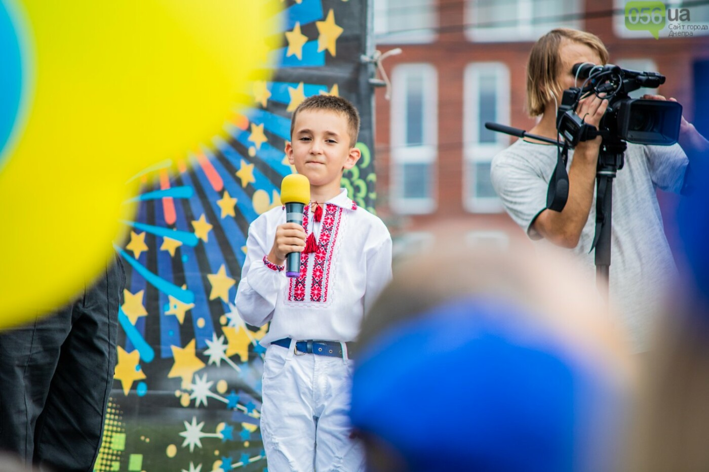 В Днепре устроили красочный флешмоб ко Дню Конституции, - ФОТОРЕПОРТАЖ, фото-1
