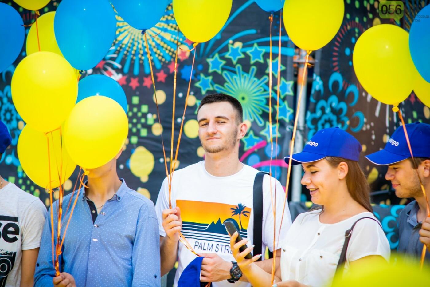 В Днепре устроили красочный флешмоб ко Дню Конституции, - ФОТОРЕПОРТАЖ, фото-14