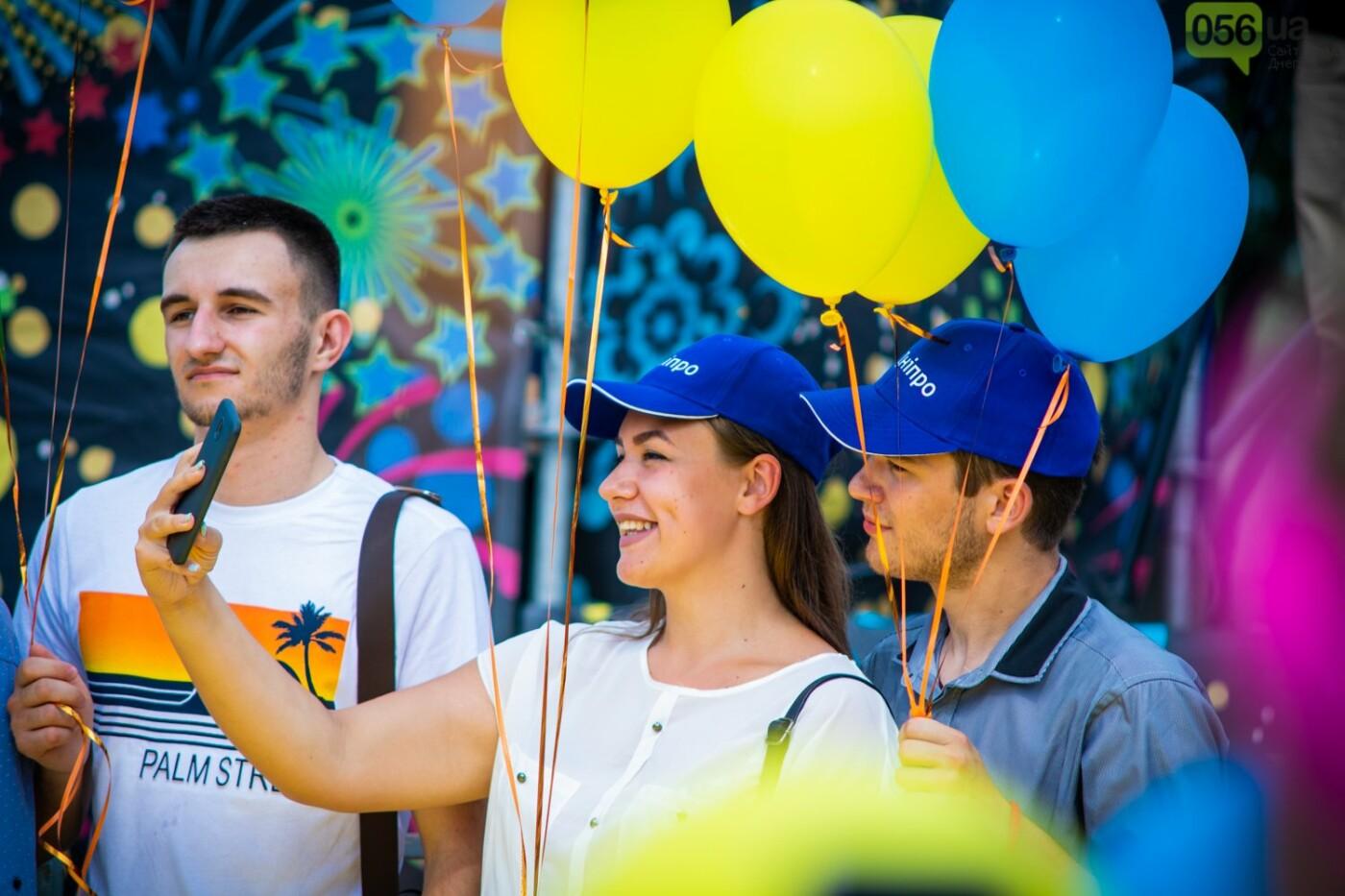 В Днепре устроили красочный флешмоб ко Дню Конституции, - ФОТОРЕПОРТАЖ, фото-4