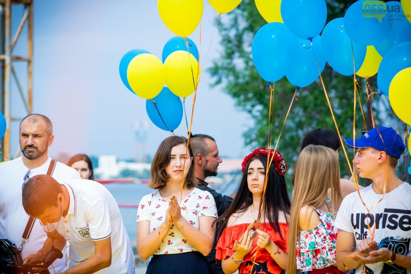 В Днепре устроили красочный флешмоб ко Дню Конституции, - ФОТОРЕПОРТАЖ, фото-12
