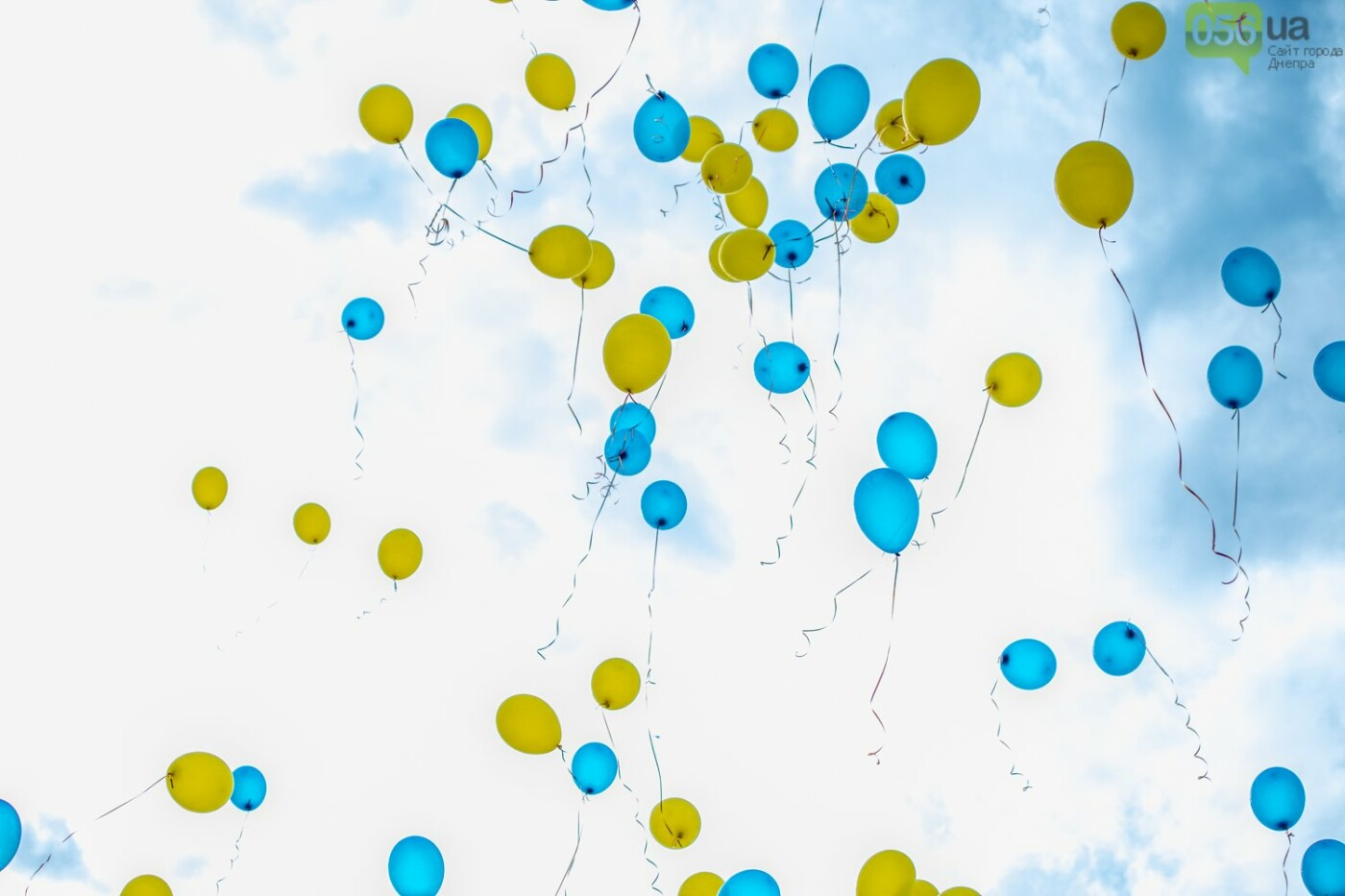 В Днепре устроили красочный флешмоб ко Дню Конституции, - ФОТОРЕПОРТАЖ, фото-9