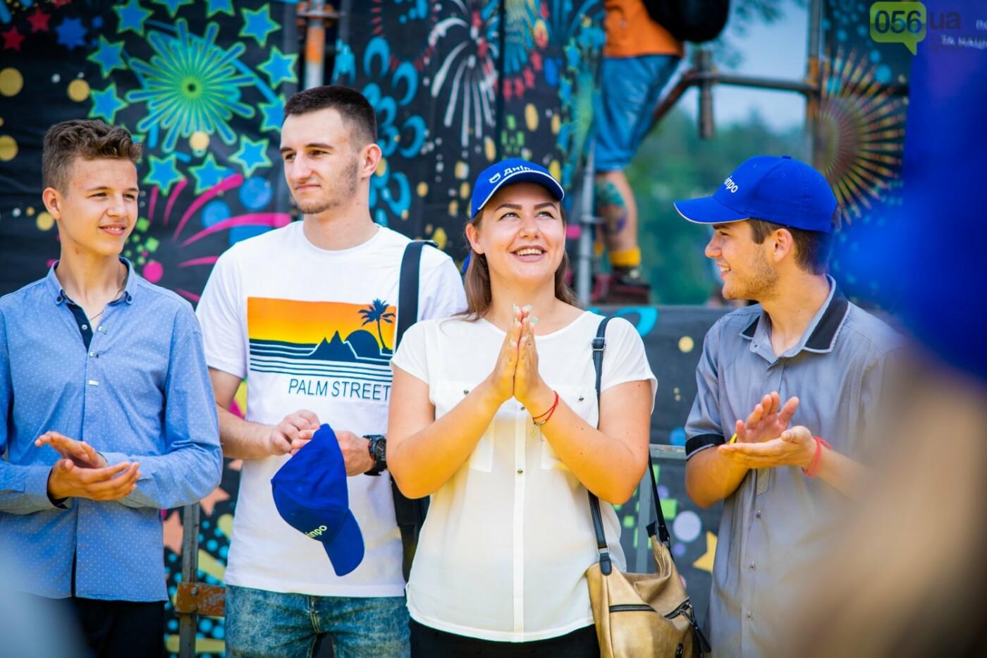 В Днепре устроили красочный флешмоб ко Дню Конституции, - ФОТОРЕПОРТАЖ, фото-10