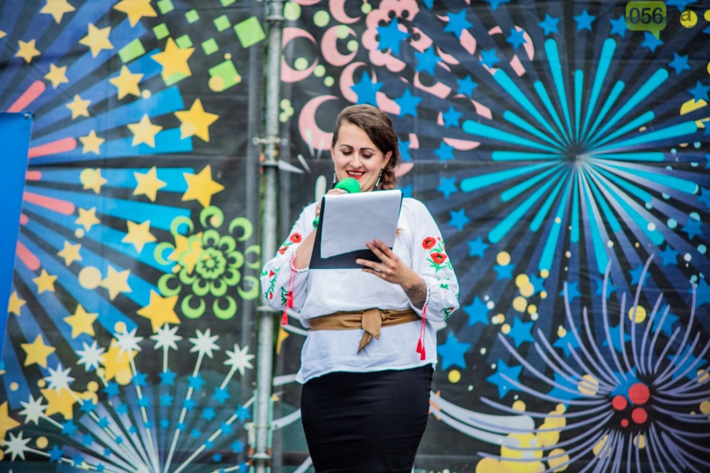 В Днепре устроили красочный флешмоб ко Дню Конституции, - ФОТОРЕПОРТАЖ, фото-7