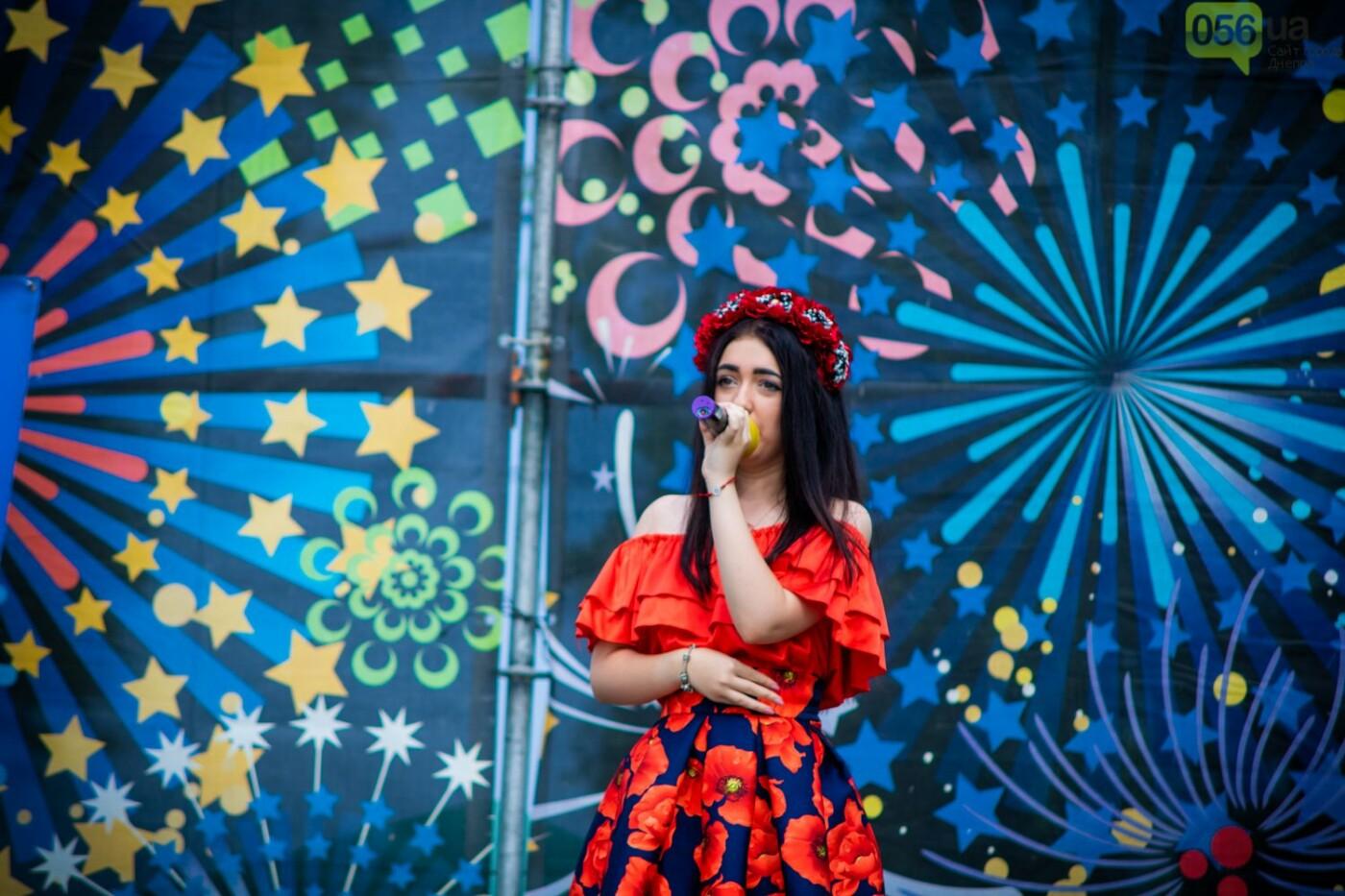 В Днепре устроили красочный флешмоб ко Дню Конституции, - ФОТОРЕПОРТАЖ, фото-2