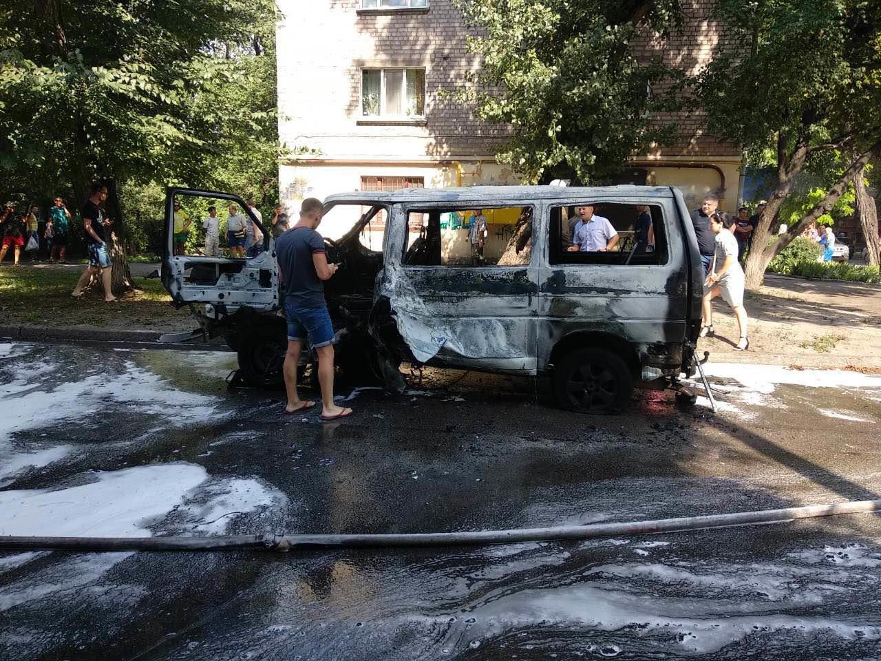 В Днепропетровской области взорвали машину: внутри находился депутат горсовета, - ФОТО, фото-5