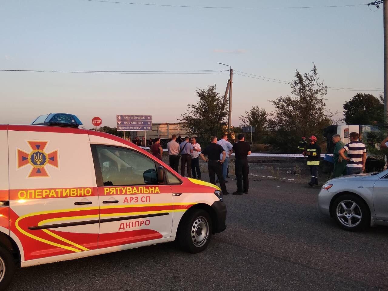 На Днепропетровщине столкнулись иномарка и рейсовый автобус: есть погибшие,  - ФОТО, фото-9
