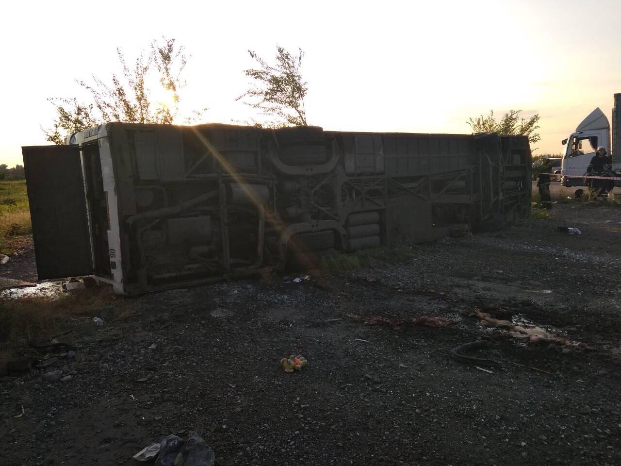 На Днепропетровщине столкнулись иномарка и рейсовый автобус: есть погибшие,  - ФОТО, фото-5