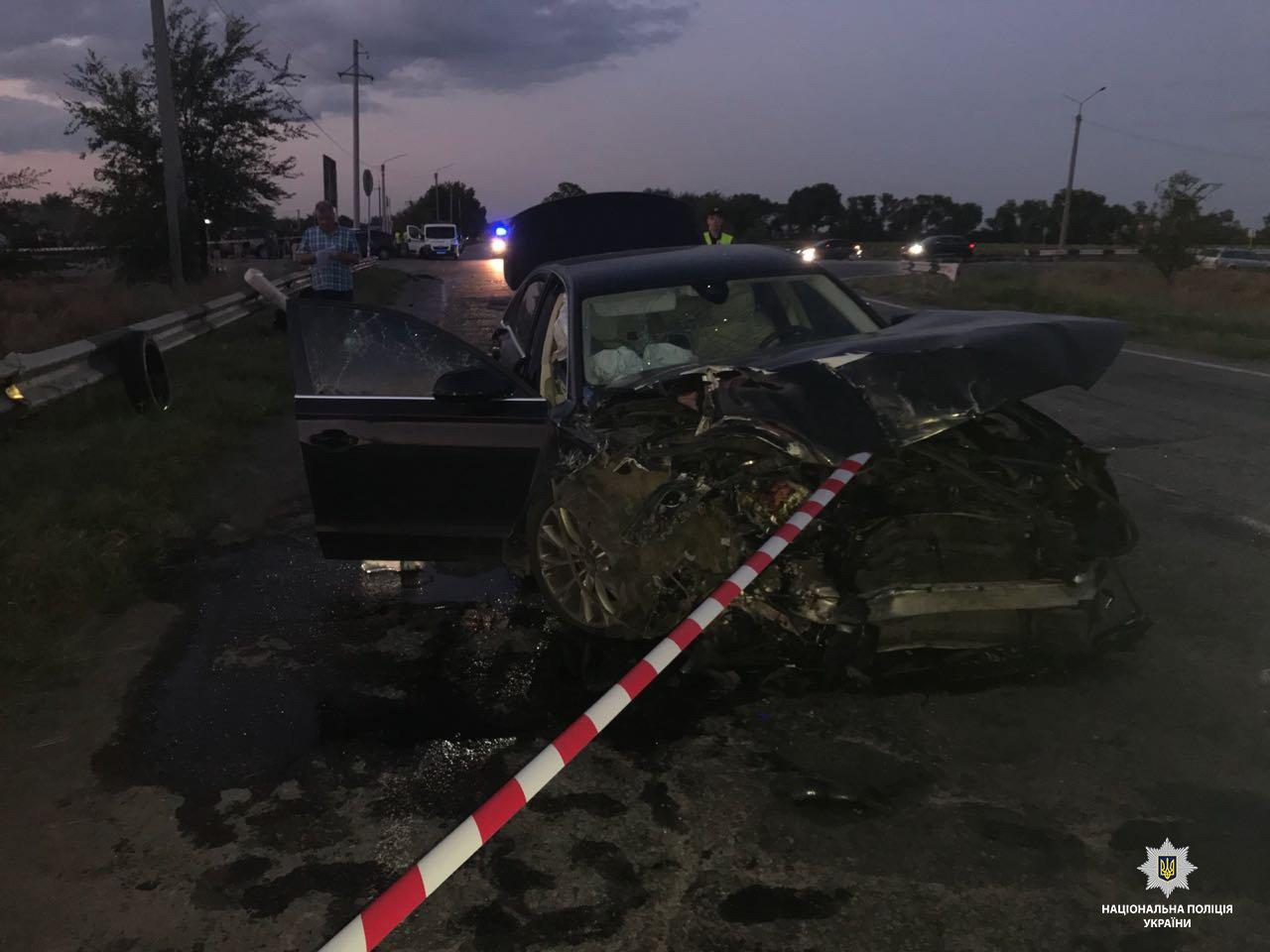Задержали водителя иномарки, который спровоцировал смертельное ДТП с автобусом под Днепром, - ФОТО, фото-1