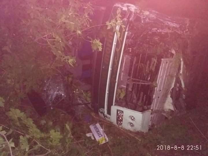На Днепропетровщине столкнулись иномарка и служебный автобус с пассажирами: пострадали 15 человек, - ФОТО, ВИДЕО, фото-3