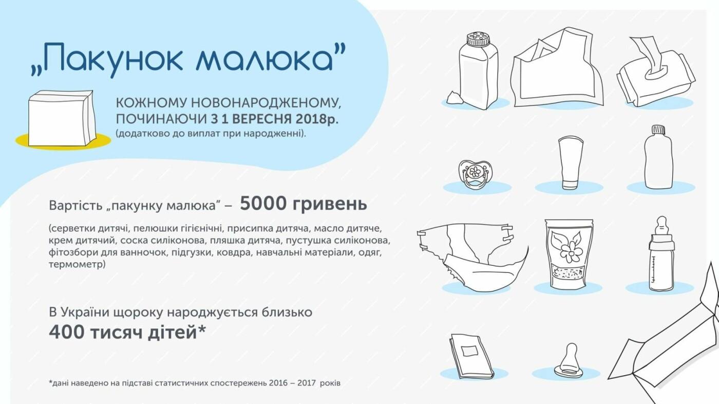 Дети Днепра: с 1 сентября новорожденным будут выдавать baby-box, фото-1
