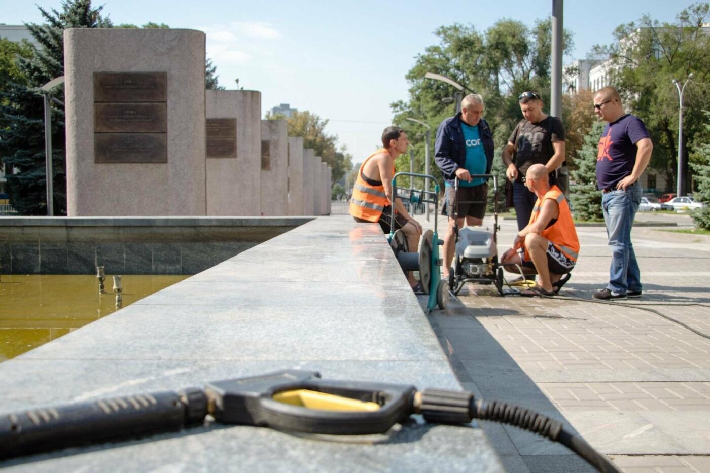 Как часто чистят днепровские фонтаны, - ФОТО, фото-6