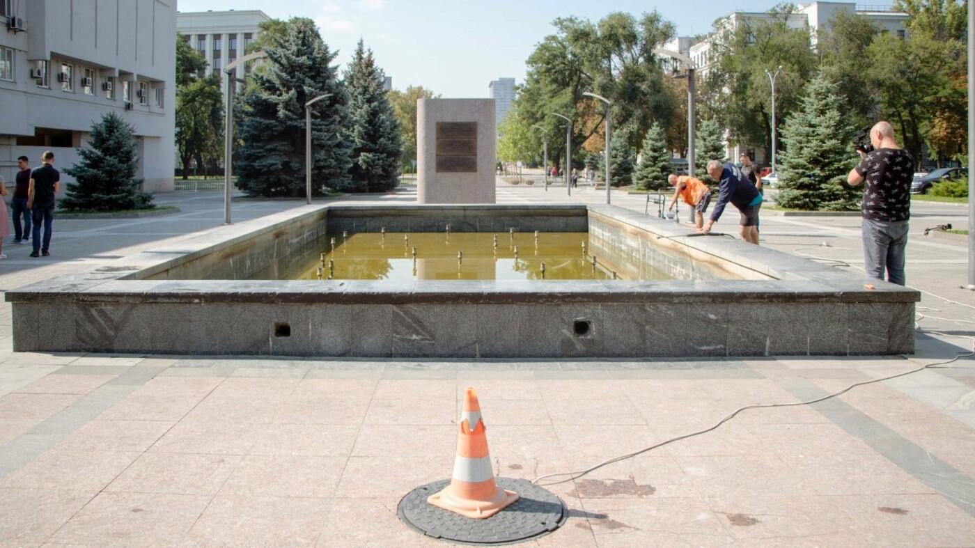 Как часто чистят днепровские фонтаны, - ФОТО, фото-1