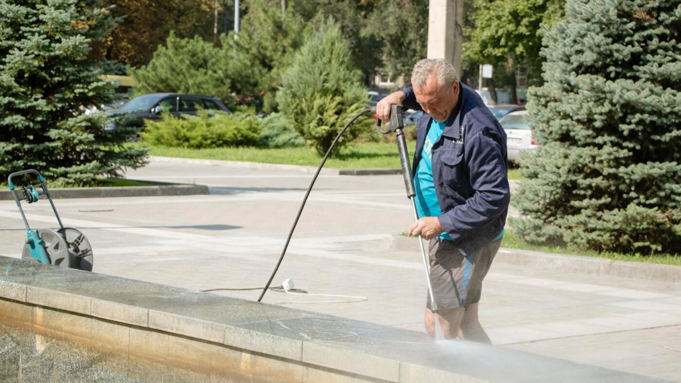 Как часто чистят днепровские фонтаны, - ФОТО, фото-5