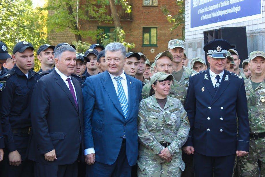 Полицейским Днепра и области Президент Украины вручил 27 внедорожников, - ФОТО, фото-1