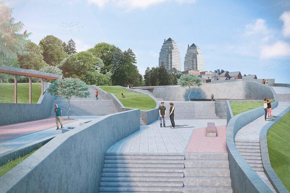 Парк Шевченко в Днепре полностью реконструируют: как это будет выглядеть, фото-5