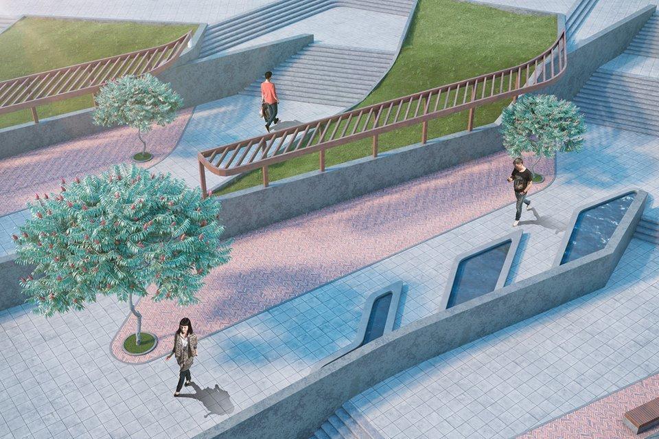 Парк Шевченко в Днепре полностью реконструируют: как это будет выглядеть, фото-11