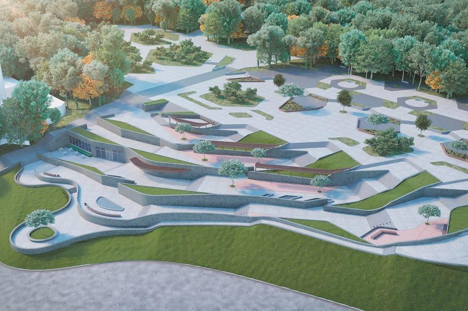 Парк Шевченко в Днепре полностью реконструируют: как это будет выглядеть, фото-4