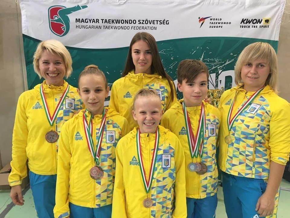Днепровские тхеквондисты стали победителями и призерами международных соревнований, - ФОТО, фото-3