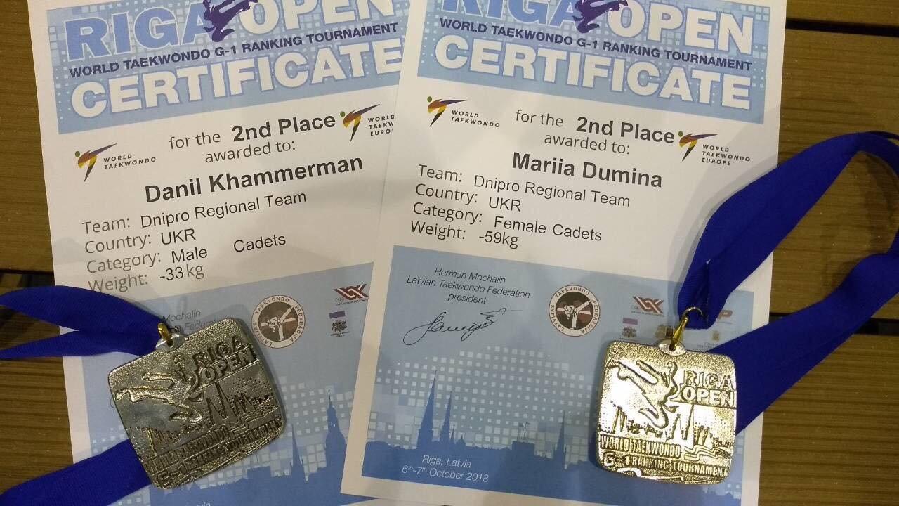 Днепровские тхеквондисты стали победителями и призерами международных соревнований, - ФОТО, фото-2