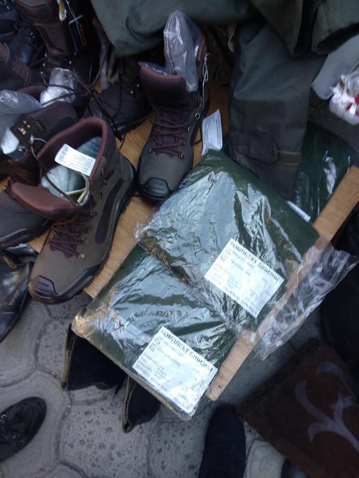 В Днепре незаконно продают форму Нацгвардии Украины на обычном рынке, - ФОТО, фото-1