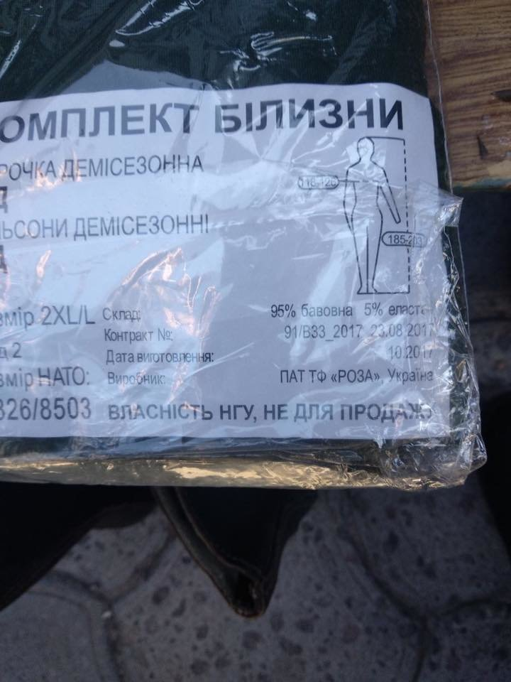 В Днепре незаконно продают форму Нацгвардии Украины на обычном рынке, - ФОТО, фото-3