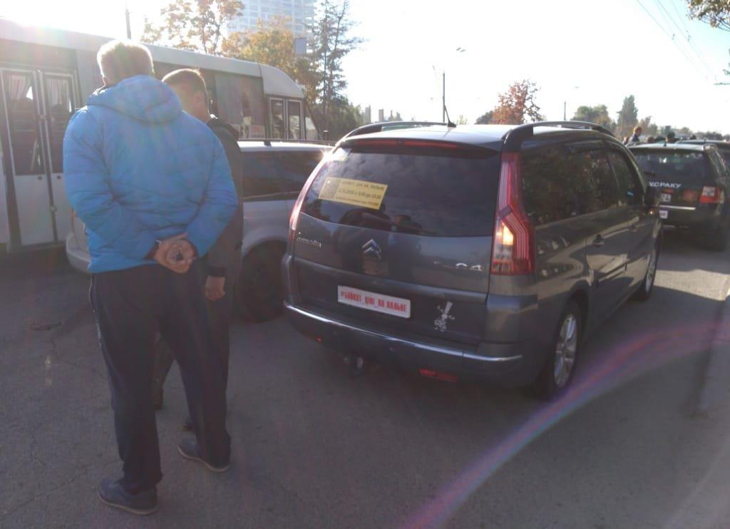 Митинг в Днепре: почему бастовали водители,  - ФОТО, фото-1