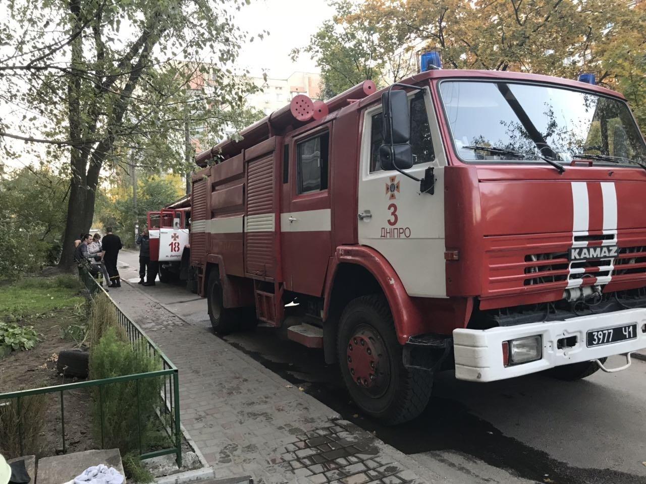 В Днепре горела многоэтажка: есть погибший и пострадавшая, - ФОТО, фото-1