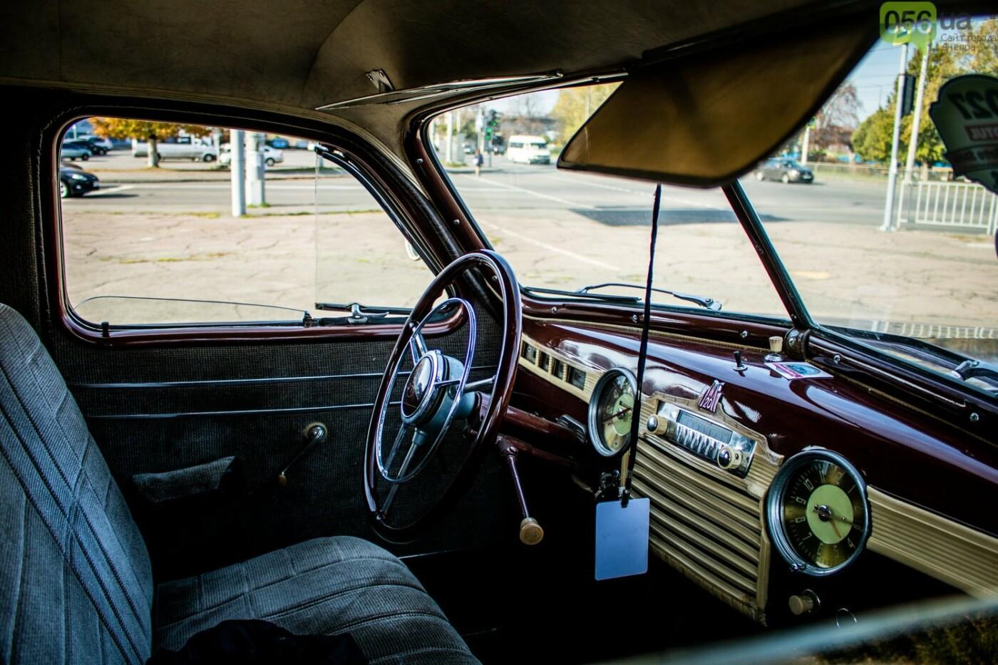 «Реставрация – это недешевое хобби»: как в Днепре проходит встреча владельцев ретро-автомобилей, - ФОТОРЕПОРТАЖ, фото-13