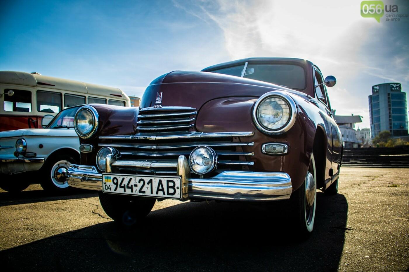 «Реставрация – это недешевое хобби»: как в Днепре проходит встреча владельцев ретро-автомобилей, - ФОТОРЕПОРТАЖ, фото-12