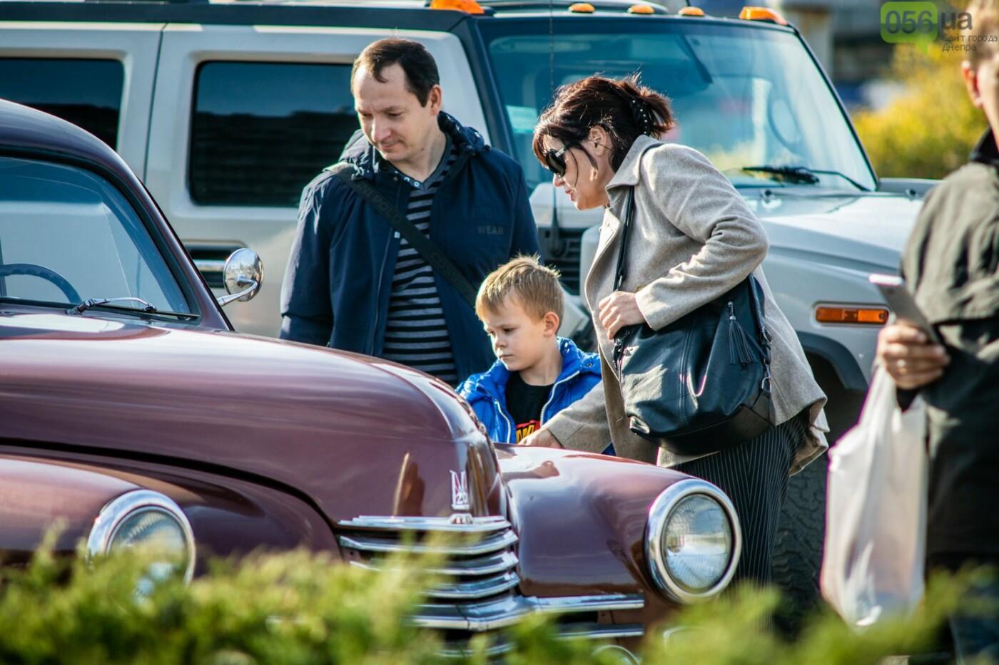 «Реставрация – это недешевое хобби»: как в Днепре проходит встреча владельцев ретро-автомобилей, - ФОТОРЕПОРТАЖ, фото-8