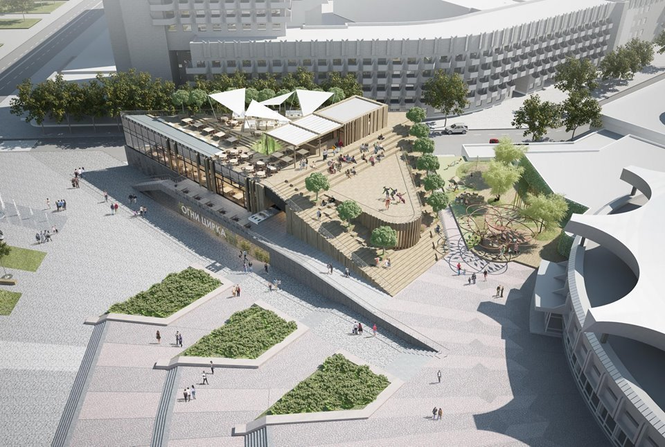 В Днепре планируют капитально реконструировать площадь перед цирком: как это будет выглядеть, - ФОТО, фото-7