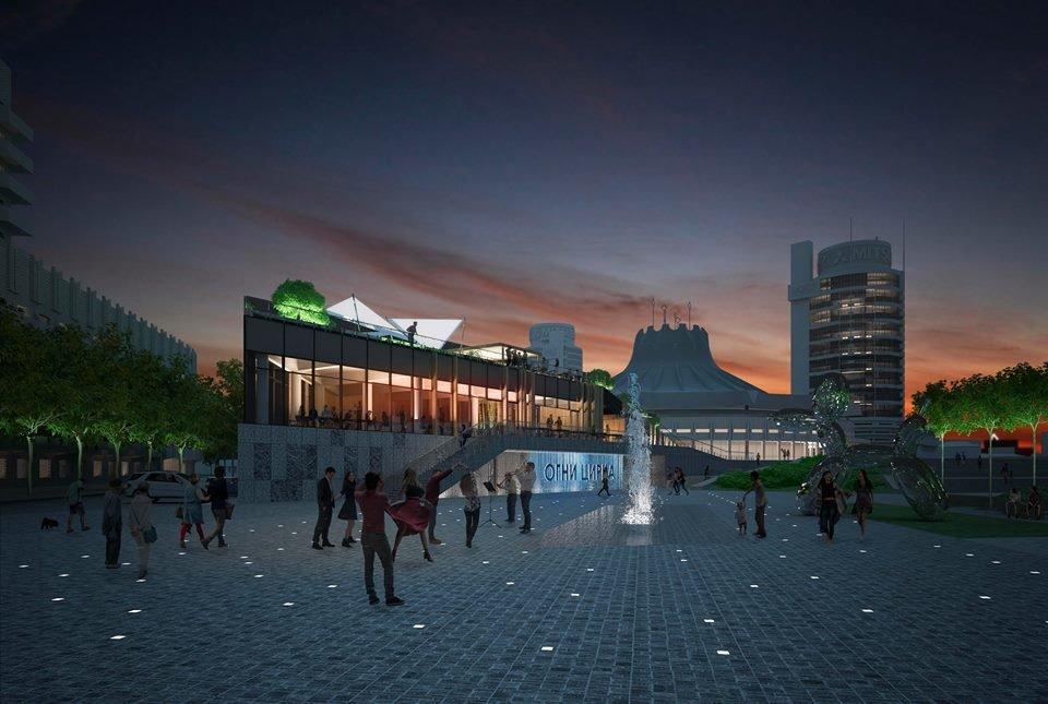 В Днепре планируют капитально реконструировать площадь перед цирком: как это будет выглядеть, - ФОТО, фото-5