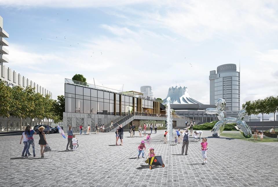 В Днепре планируют капитально реконструировать площадь перед цирком: как это будет выглядеть, - ФОТО, фото-4